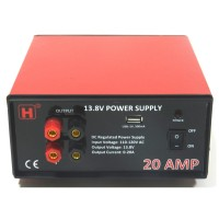 20A Twins Outputs Power Supply with USB Port