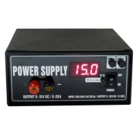 5-15V / 0- 20A Power Supply Adjustable