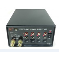 40A Multi Power Supply with USB Port