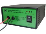 1000W (72V)  Sealed Lead-Acid Battery Charger with Alligator clips