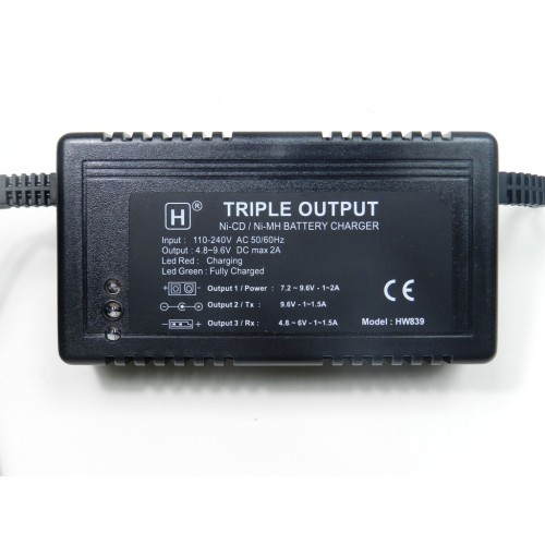 2A- Triple Charger