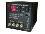 2000W Twins Outputs Power Supply with USB Port